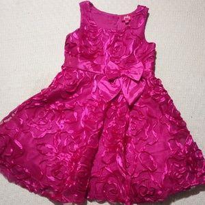 Fuschia girls fancy dress